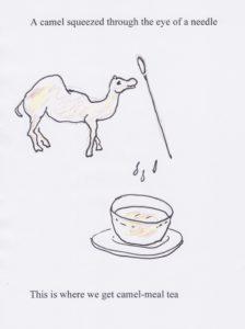 Camel-meal tea