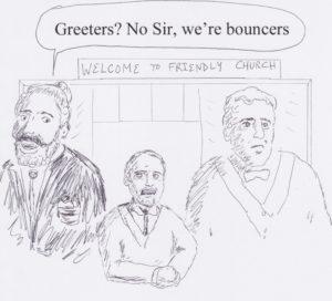 Church bouncers
