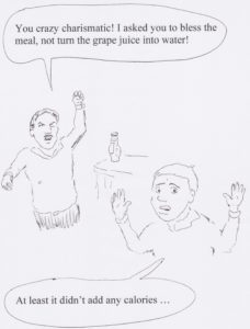Grape juice to water
