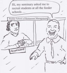 Recruiting at Feeder Schools