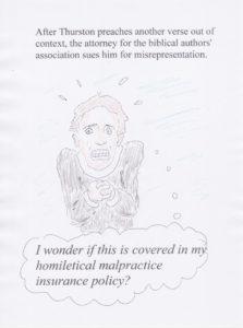 Homiletical malpractice